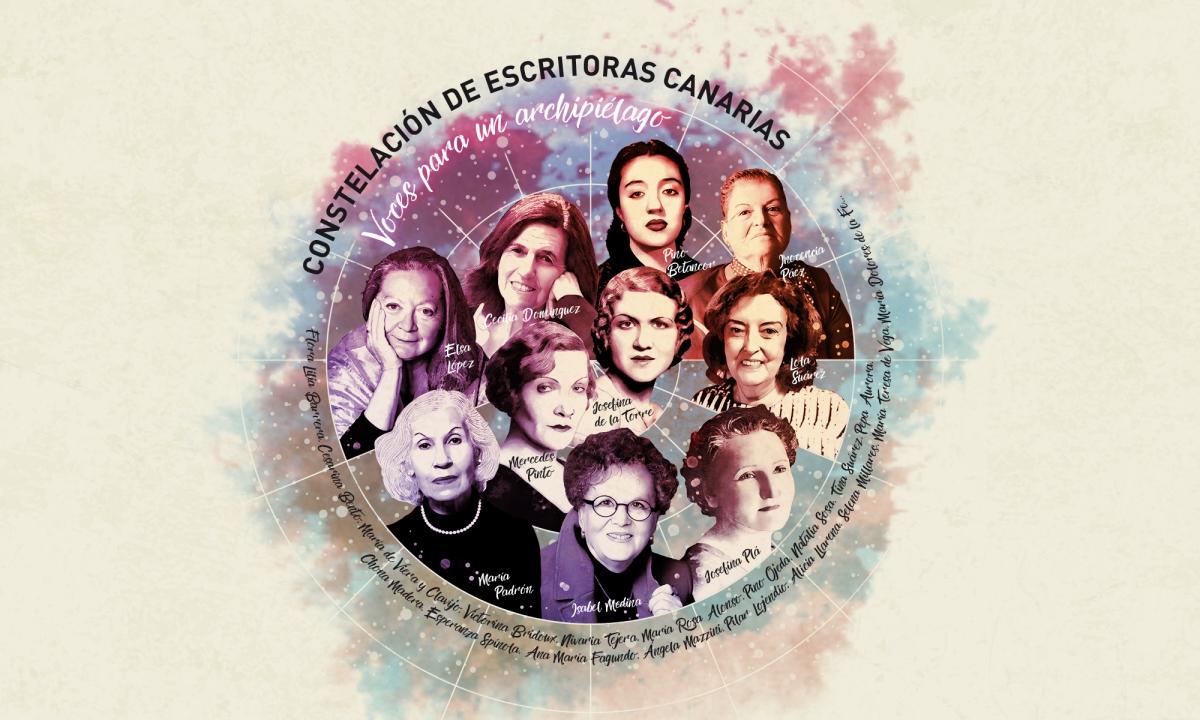 Constelación de escritoras canarias (proyecto educativo)